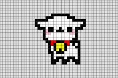 Alpaca Pixel Art V 2020 G S Izobrazheniyami Pikselnye
