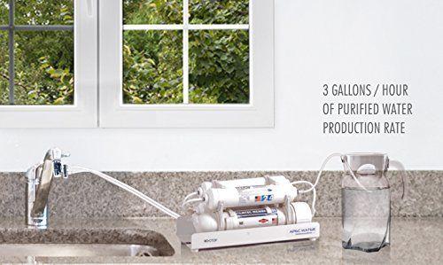 Apec Water Us Made Countertop Reverse Osmosis Water Filter Portable Installat Osmosis Water Filter Reverse Osmosis Water Filter Countertop Water Filter