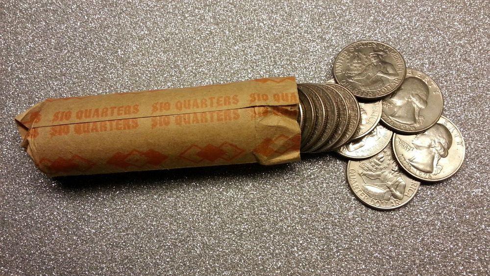 Washington Quarter Roll 1976 Bicentennial 25C