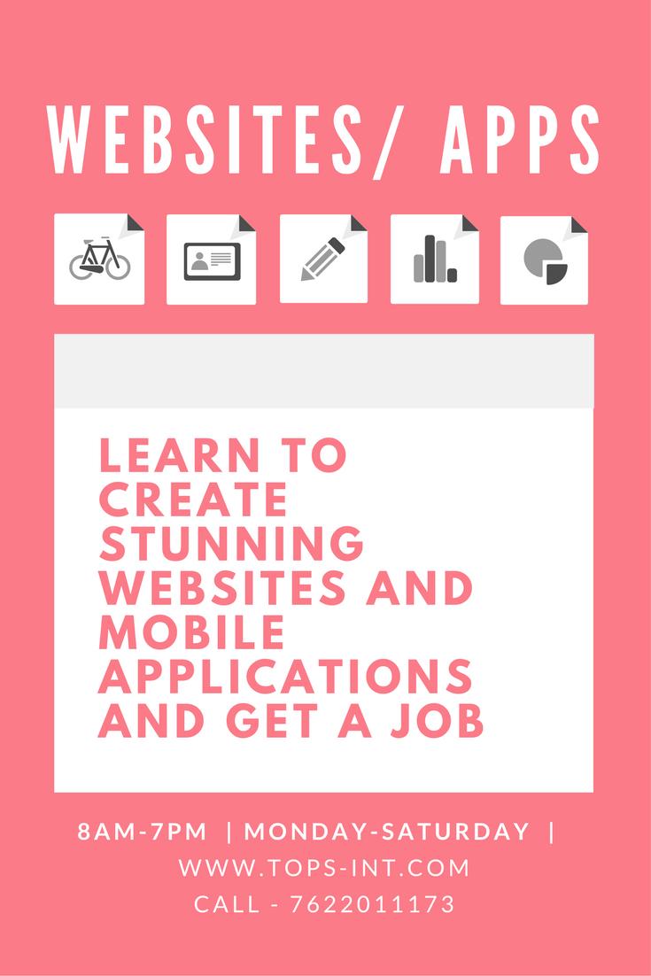 Online Web Designing Course Web Design Web Design Training App Design