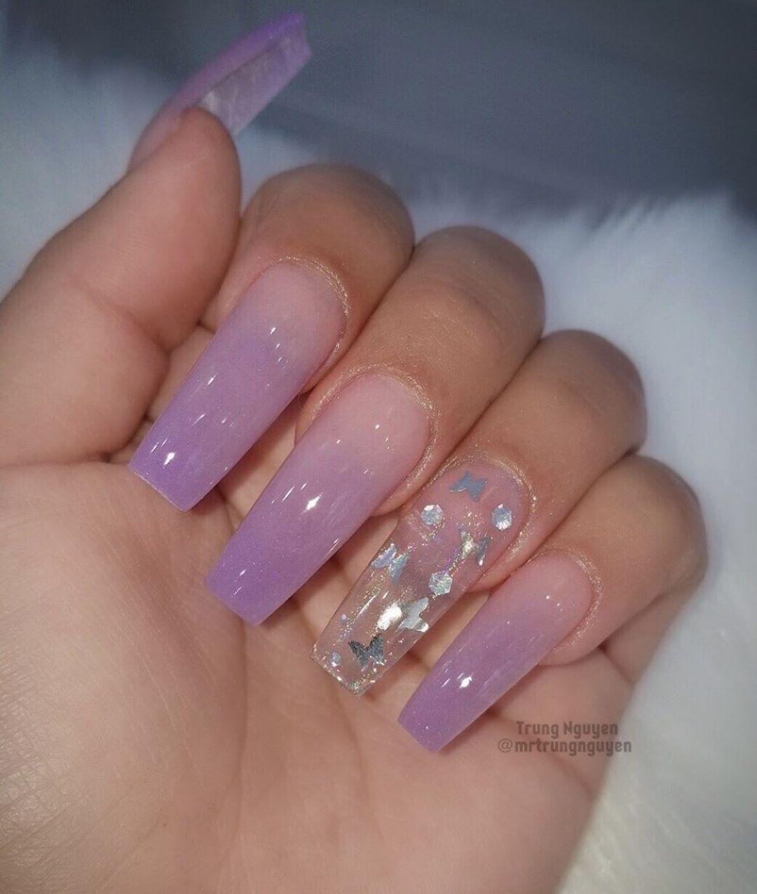 #nailsofinstagram #Nailblogger #nails#purplenails