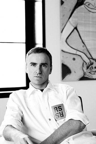 Raf Simons Heads to Calvin Klein.