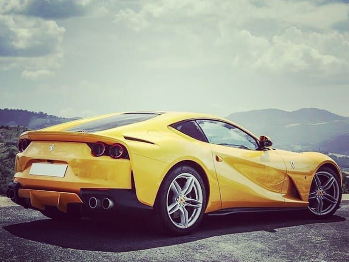 Do you know that yellow was the original color of Ferrari ...