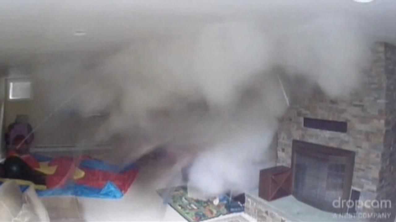 Nanny Cam Catches Massive Boiler Explosion In Kids Playroom