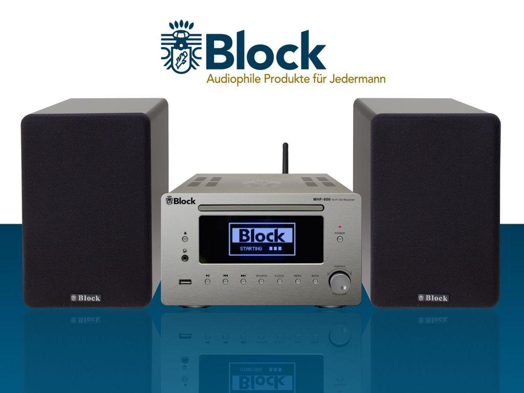Block Mikroanlage Mhf 800 In Diamantsilber Incl Dab Digitales Radio Anlage Wolle Kaufen