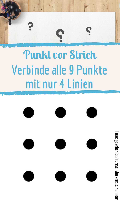 Rompecabezas Puedes Conectar Los 9 Puntos Con Solo 4 Lineas Este Rompecabezas Logico Es B Math For Kids Calming Websites Breakout Boxes