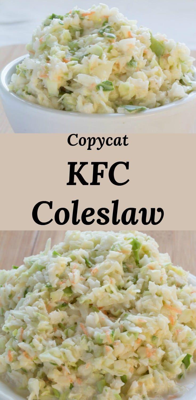 Copycat kfc coleslaw everyones favorite fast food side