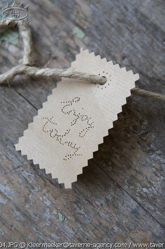 Kraft paper DIY, Enjoy today - via Taverne © Rosalie Noordam