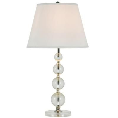 Table Lamps At Home Depot Delectable Hampton Bay  Acrylic Table Lamp  13949  Home Depot Canada  So Inspiration Design