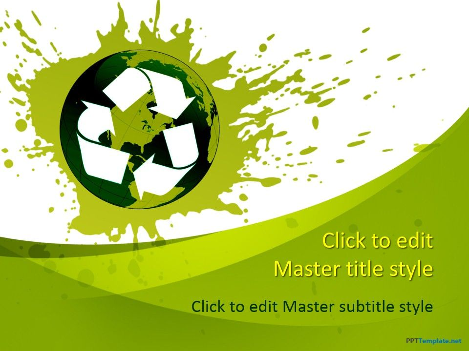 Free recycle ppt template nature ppt templates pinterest ppt spread awareness regarding the need to recycle and the community benefits associated with recycling in free recycle powerpoint background for mac and pc toneelgroepblik Image collections