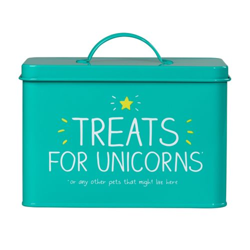 Treats For Unicorns Pet Storage Tin Unicorn Stuffed Animal Stuffed Animal Storage Unicorn