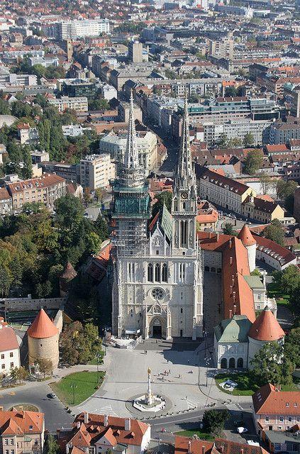 Zagreb Cathedral Zagreb Croatia Croatia Travel Croatia