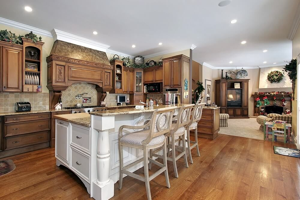 71 Custom Kitchens And Design Ideas Love Home Designs Custom Kitchen Island Kitchen Island Design Luxury Kitchen Design