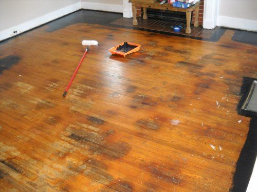 Painting Pet Stained Hardwood Floors Jpg 500x375 Without Sanding