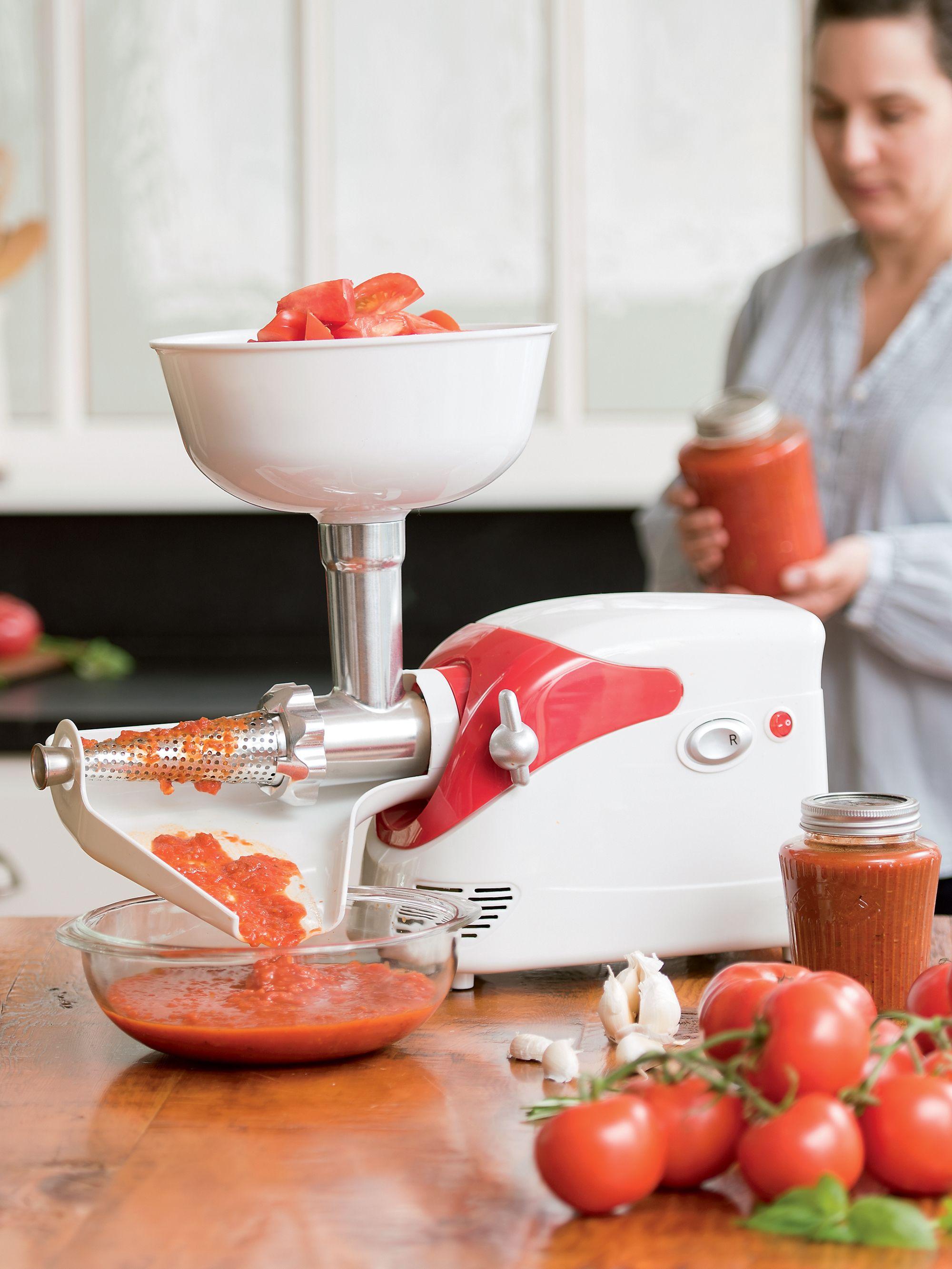 Deluxe electric tomato strainer 200 watt