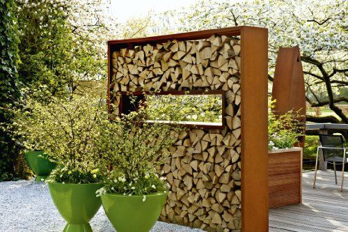 Sichtschutz im Garten - Das große Ideenbuch Hecken, Mauern, Zäune - garten sichtschutz mauer