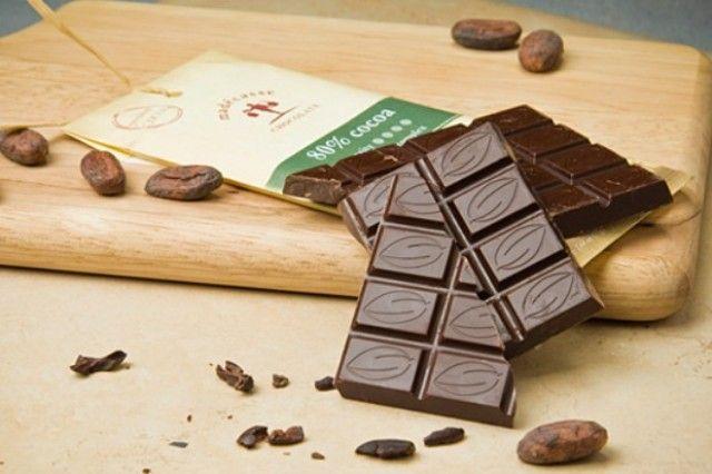 Chocolate made in Madagascar