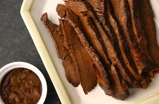 Braised Beef Brisket with Onions