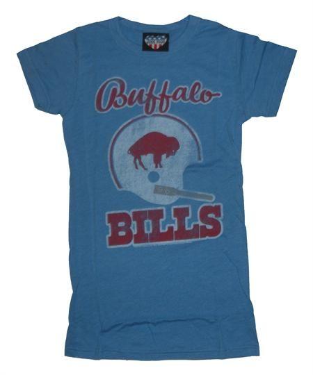 08b6d409 Junk Food NFL Buffalo Bills Girly/Womens T-Shirt in Blueberry ...