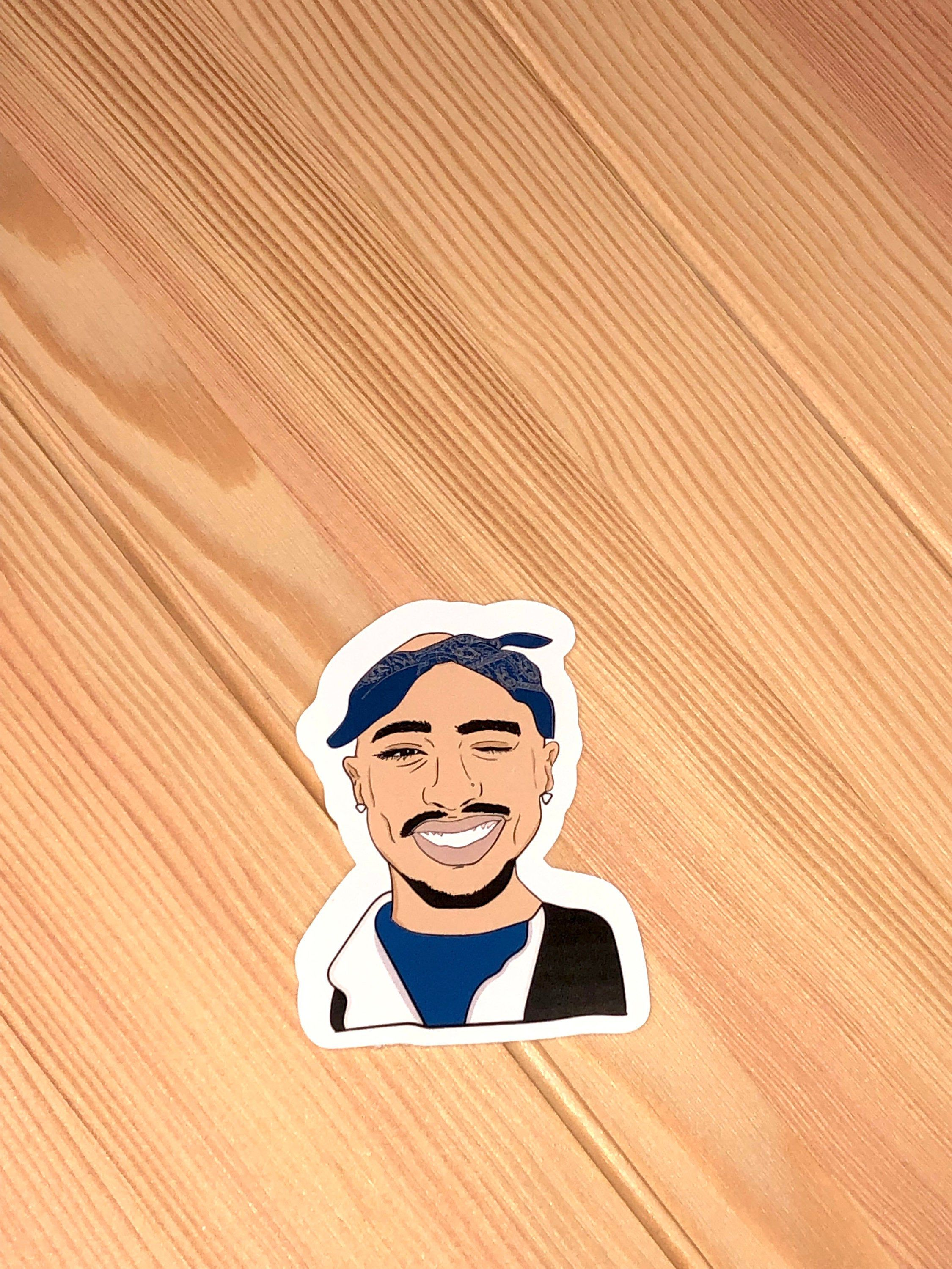 Excited To Share The Latest Addition To My Etsy Shop Tupac Sticker 2pac Sticker Hiphop Sticker Papergo Cute Stickers Iphone Stickers Gloss Sticker Paper [ 3000 x 2250 Pixel ]