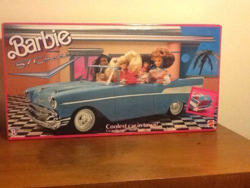 barbie car 57 chevy 1989