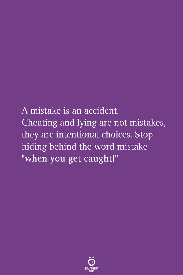 A Mistake Is An Accident