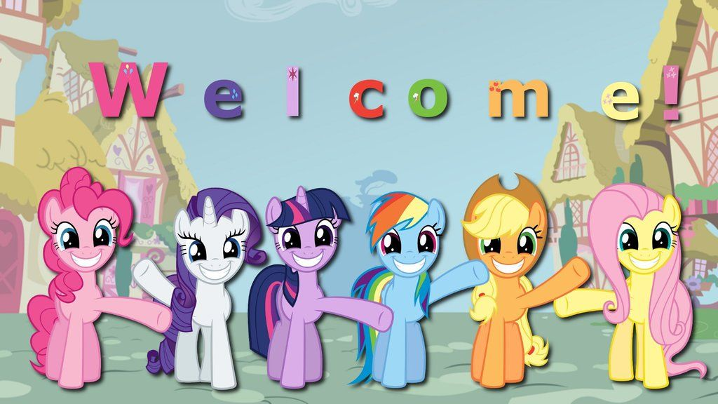 Image result for photo welcome my little pony