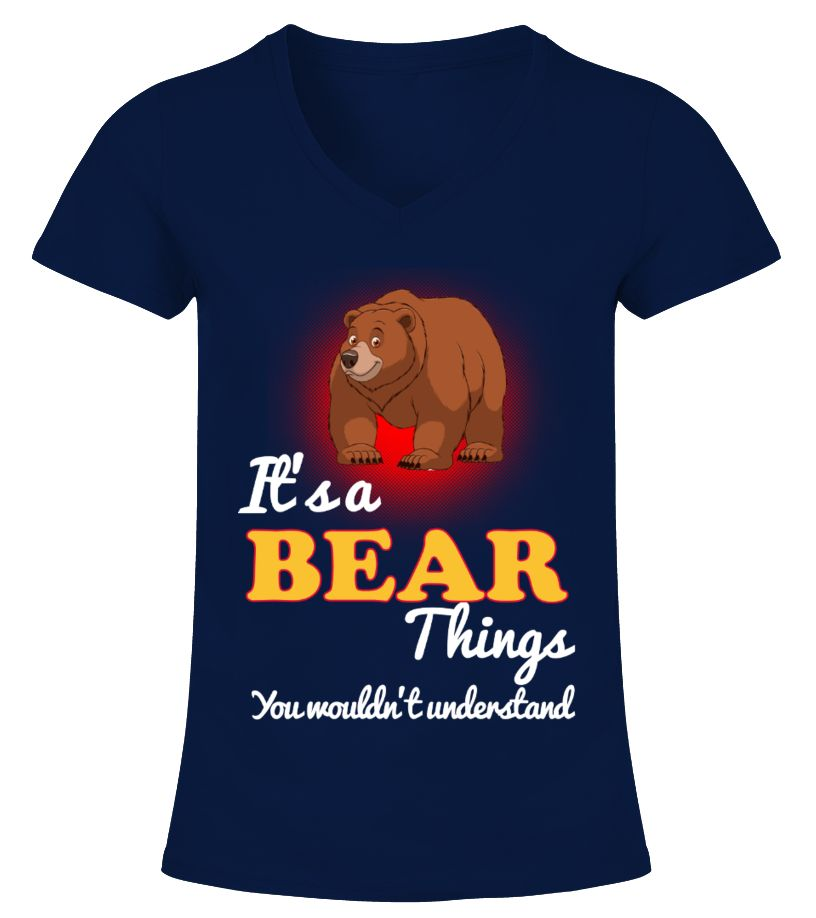 BEAR Animals Lover  Funny Bear T-shirt, Best Bear T-shirt