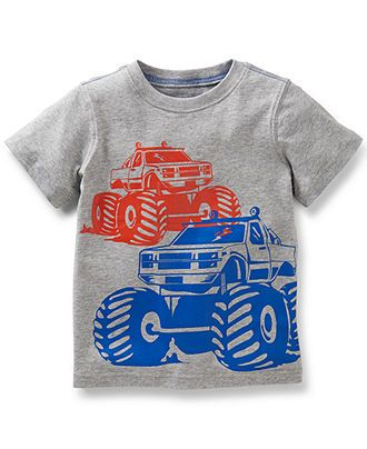 Carter s Toddler Boys  Monster Truck Tee - Kids Toddler Boys (2T-5T) -  Macy s 69492b3512e5