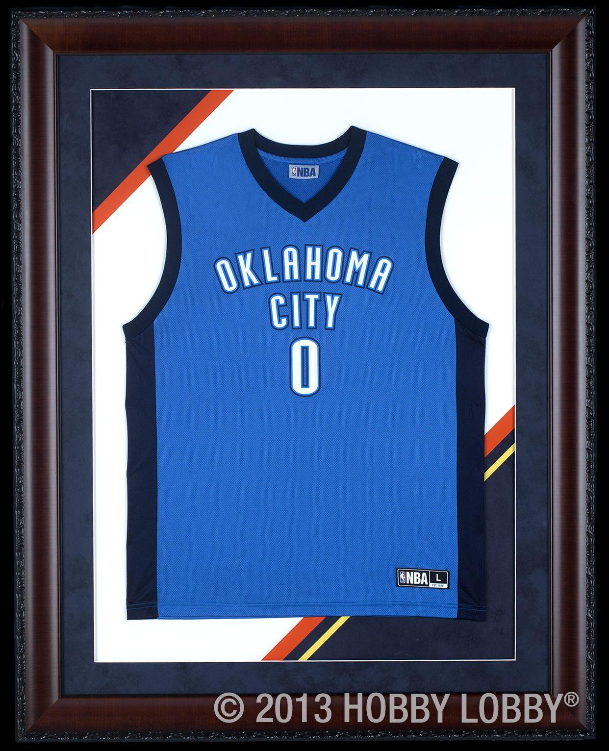 Show your team spirit with a framed jersey! | Custom Framing Ideas ...