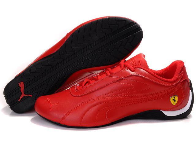 Authentic 158021 Puma Fluxion II Men Red Shoes