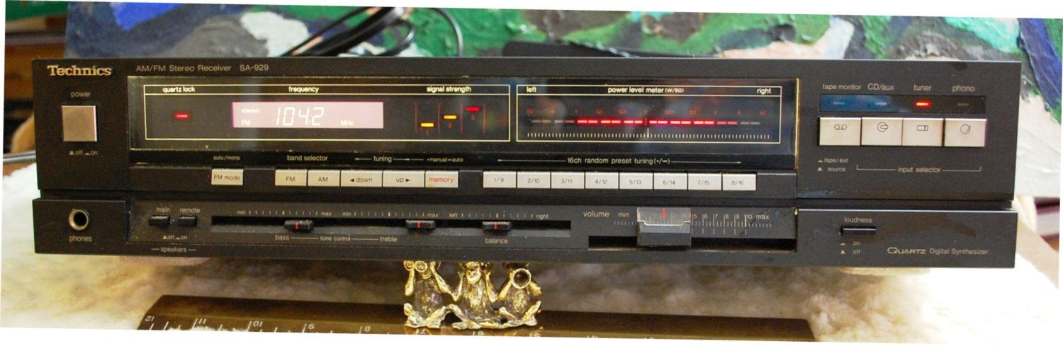 Perfect Technics Model SA 929 Stereo Receiver By OurPastourFuture On Etsy