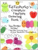 ed emberly - fingerprint art book - he taught me how to draw when i was little!