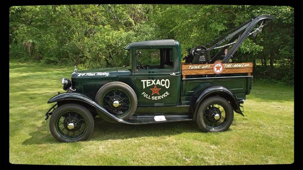 1930 Ford Model A Wrecker Tow Truck For Sale 1971613 Hemmings