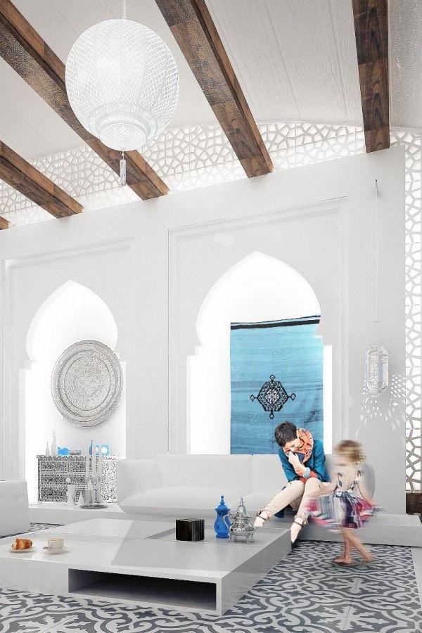 Une maison magnifique en style marocain au quatar villas marrakech and moroccan