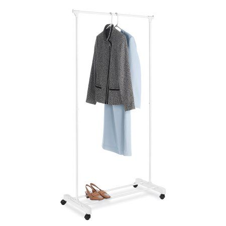 Walmart Clothes Hanger Rack Enchanting Free Shipping On Orders Over $35Buy Mainstays Rolling Garment Rack Decorating Design