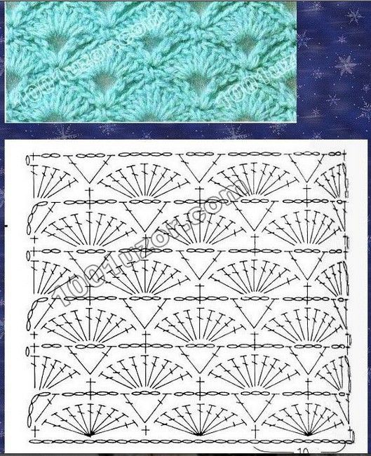 points-fantaisies (15) | Products I Love | Pinterest | Crochet ...