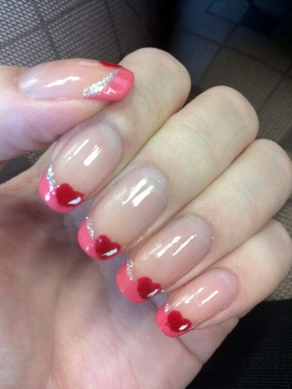 Pink tips | nail designs I want. | Pinterest