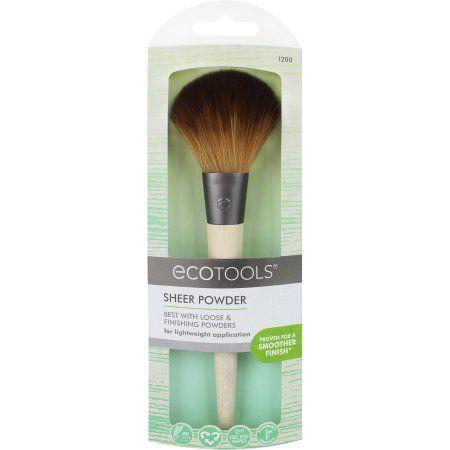 EcoTools Sheer Powder Brush, Brown   Products   Face powder