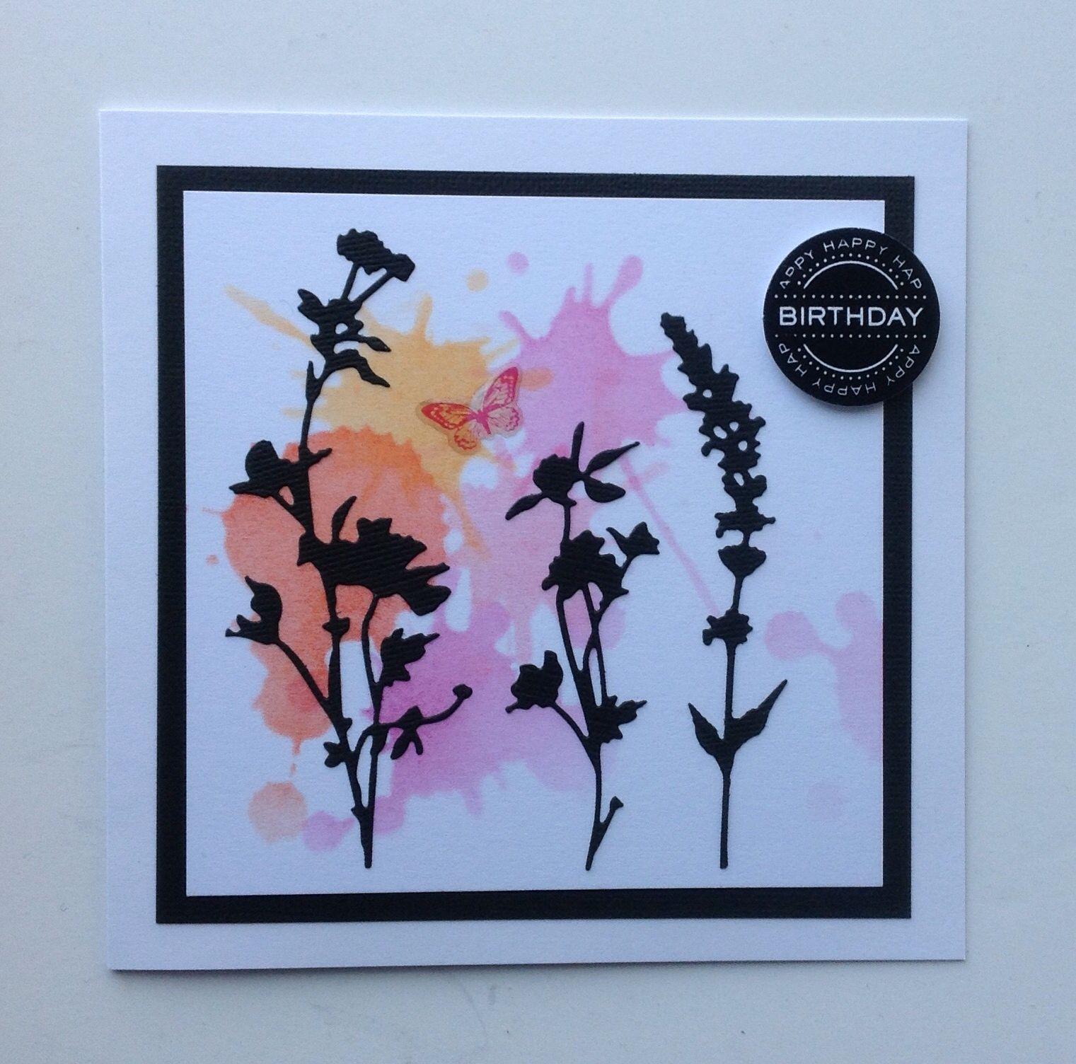 Sizzix Tim Holtz Wild Flowers | Cards - To Make | Flower ...