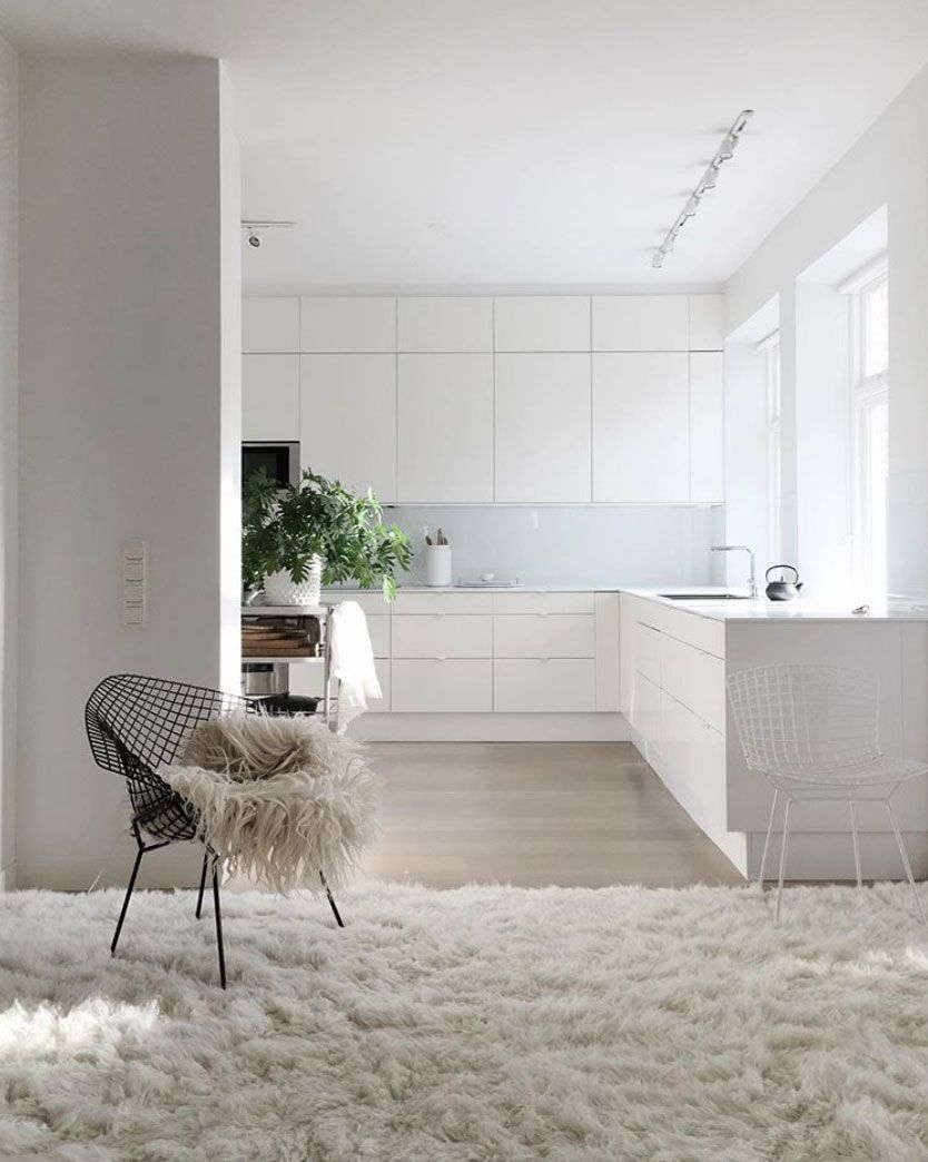 How The All White Aesthetic Has Affected Design In 2020 White Interior Design Your Home My Scandinavian Home