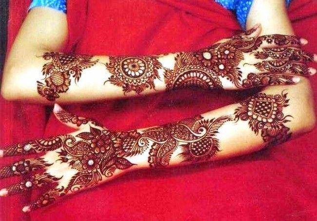 Modern Arabic Mehndi Designs 2014 : Latest trends mehndi designs 2014 in pakistan: fashion
