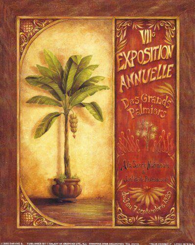 8x10 Poster Print Palm Exhibit 1 by Daphne B Fine Art  Price : $9.99 http://www.innerwallz.com/8x10-Poster-Print-Exhibit-Daphne/dp/B00ITX4XGW