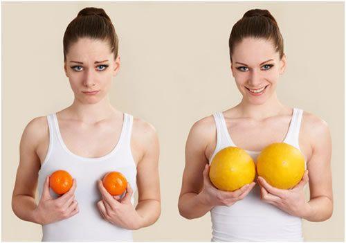 in girls developement breast