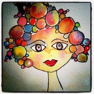 <3 watercolour