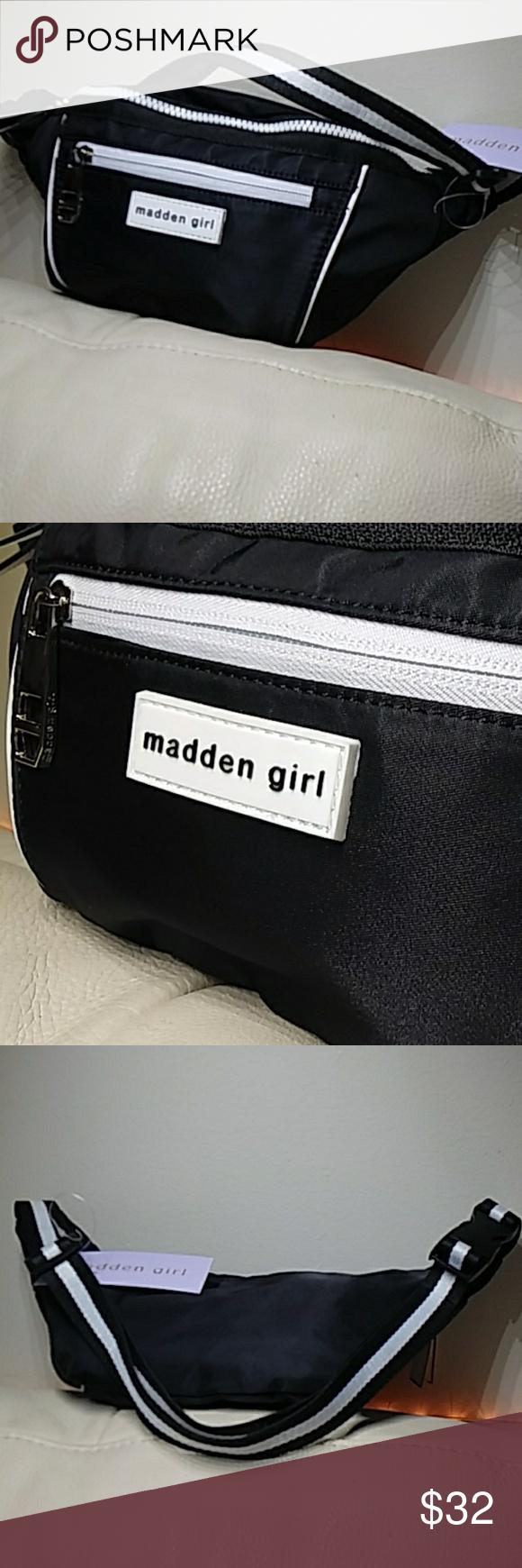 b11ffc1aa3d Madden Girl Belt Bag 2018-2019 Fashion Trends! Trendy black and ...