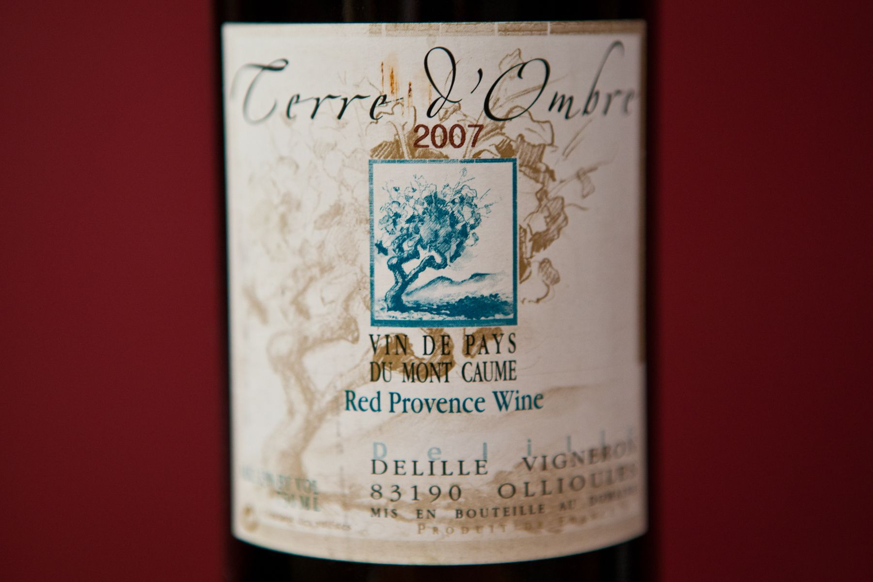 Terre D Ombre Organic Wine Wines