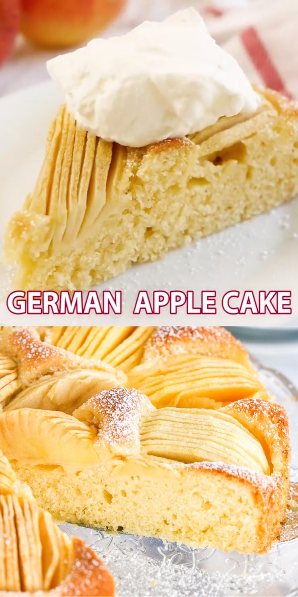 German Apple Cake Video German Apple Cake Apple Cake Recipes Easy Cake Recipes