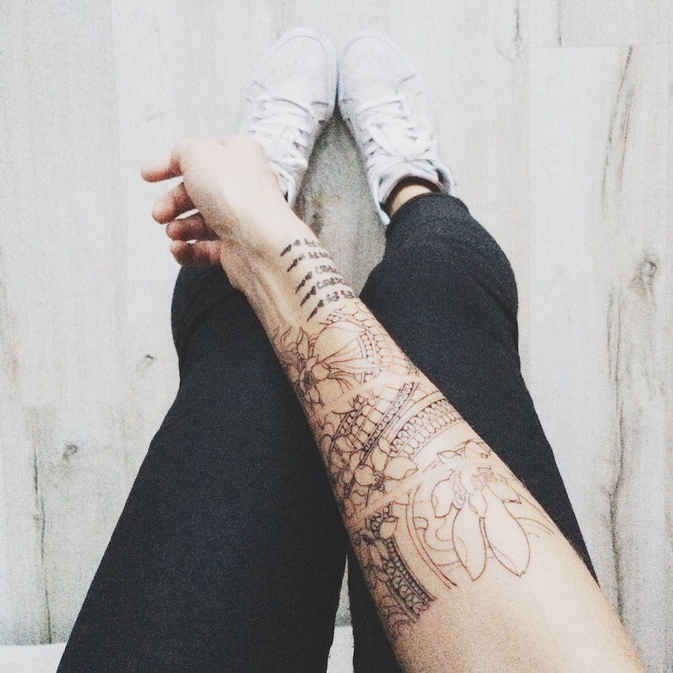 Alex's Closet - Blog mode et voyage - Paris | Montréal: Mon tatouage by Starasian