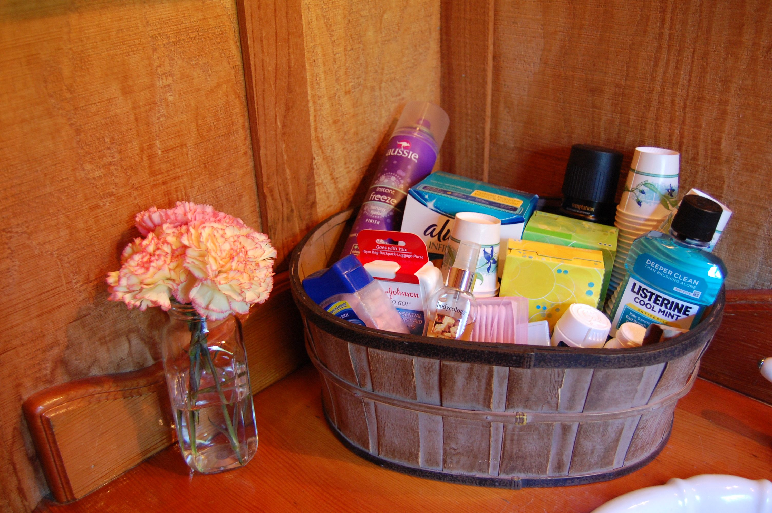 Toiletries For The Bathroom For Guest Comfort
